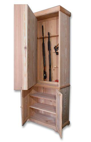 Um lugar para guardar coisas de pouco uso (eu não aguardaria armas mas acho bem interessante)