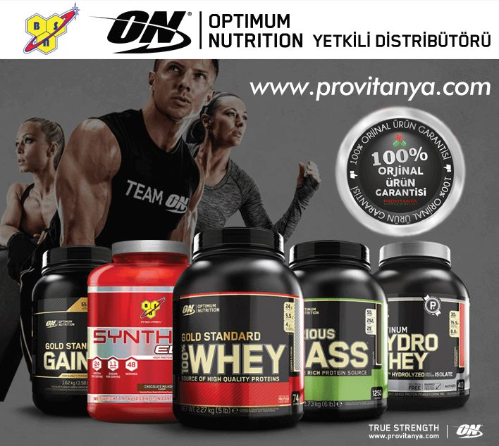 Optimum ve BSN markalarının Yetkili Distribütörü Provitanya Sporcu Gıdaları