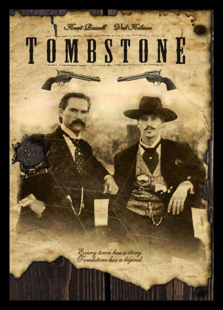 Details about tombstone fridge 6x8 movie poster