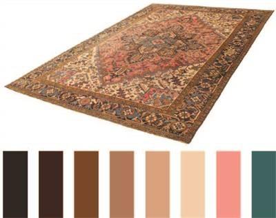 Non fare l'errore di scegliere il tappeto sbagliato, opta per il tappeto dal colore giusto! #Tappeto #Marrone