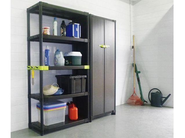 Nos Idees De Rangements Pour Le Garage Elle Decoration In 2020 Locker Storage Furniture Home Decor