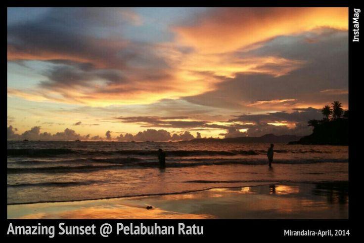 Amazing Sunset @ Pelabuhan Ratu