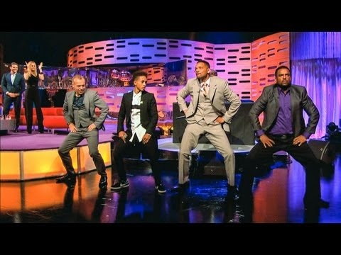 "Here is a great clip from the Graham Norton Show, where there is a bit of a ""Fresh Prince of Bel Air"" reunion.. Will Smilth is hilarious! Try not to smile at this clip- Enoy! ;)"