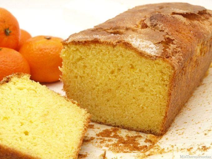 Bizcocho De Mandarina Recetas Thermomix Misthermorecetas Pasteles Caseros Tortas Panaderia Y Pasteleria