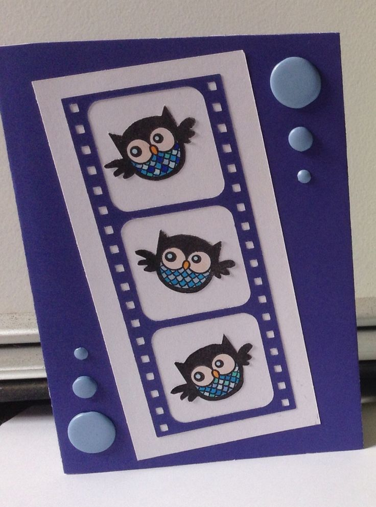 Owl card :)) #Dies and Stamps :))  May 2015