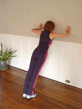 Crank out a few wall push-ups at home or work as you build strength to do full push-ups on the floor! Here's how.