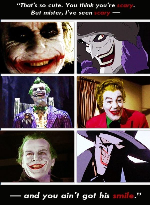 The Joker Smiles - visit to grab an unforgettable cool 3D Super ...
