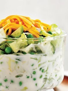 Bezelyeli salata Tarifi - Türk Mutfağı Yemekleri - Yemek Tarifleri