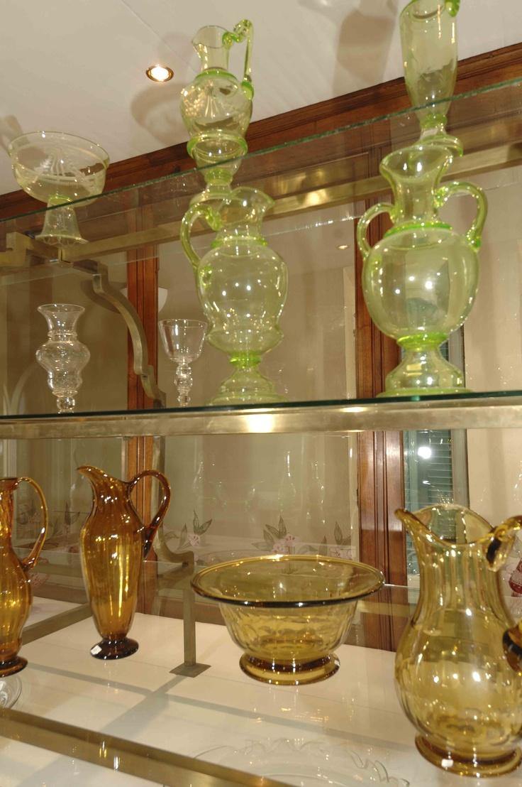 Museo del vetro di Altare, Liguria, Italy