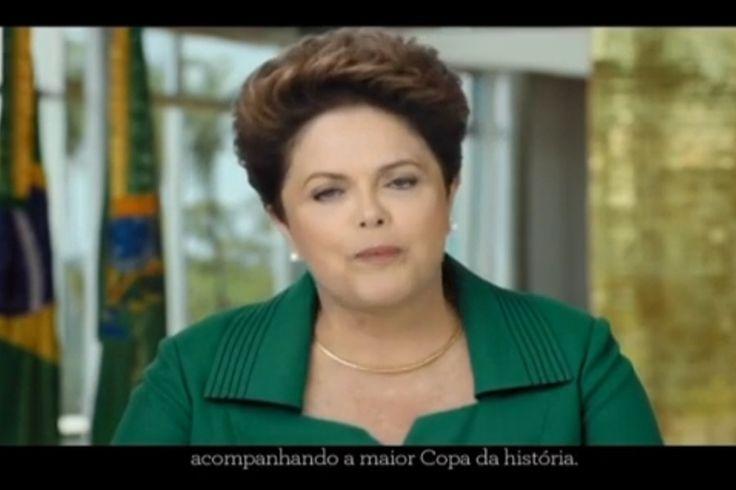 Desconstruindo o pronunciamento de Dilma pela Copa do Mundo | #CopaDoMundo, #DilmaRousseff, #Pronunciamento, #RobertoBarricelli