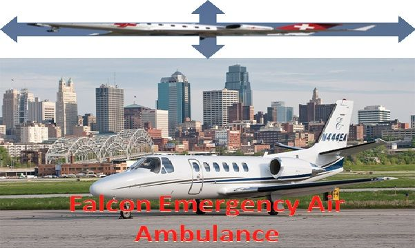 Do you need better medical care and emergency patient's medical supports air ambulance service in Patna? Now is Available in Patna Falcon Emergency Air Ambulance Services at Lowest-price.
