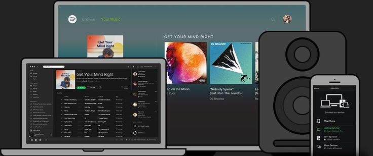 Spotify: músicas para toda a vida.