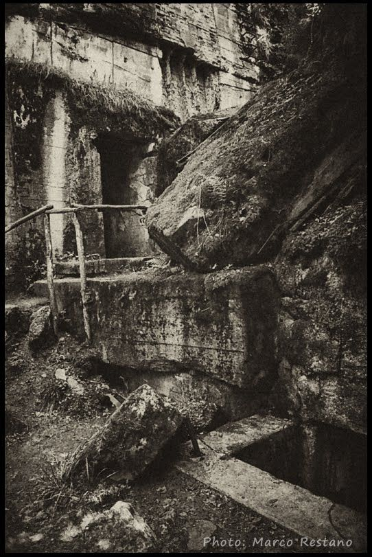 Ruins of Hitler's Bunker at Wolf's Lair - Poland 2012