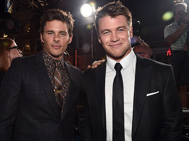 Star Tracks: Saturday, October 1, 2016 | WHOLE NEW WORLD  | James Marsden and Luke Hemsworth pose at the premiere of HBO's Westworld on Wednesday in Hollywood.