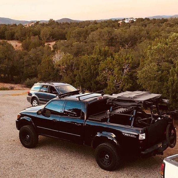 Mx986 06 2 5 1 Method Roost Wheels 285 75 17 34s Custom Built Bed Rack Yakima Tent Arb Awning Firstgentundra Toyota Tundra Lifted Tundra Toyota Tundra