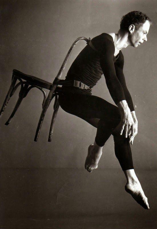 in the studio: Merce Cunningham -a fleeting moment