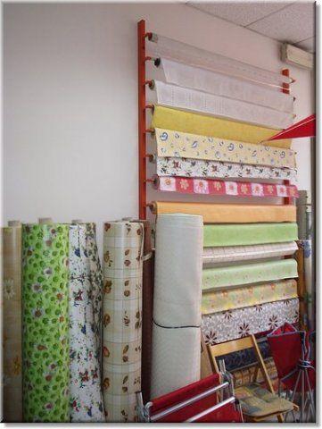 espositore per tovaglie o carta da decorazione