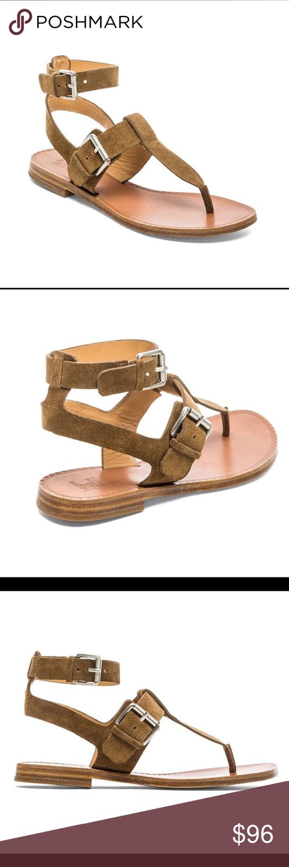 belle by SIGERSON MORRISON SANDALS Fabulous suede and letter sandals with double buckle closure. They are so well made and will last you forever. I have several pairs and love them!!! Save $100.00 on this sold out sandals! Belle by Sigerson Morrison Shoes Sandals