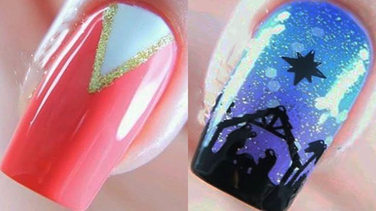 New Nail Art Design 😱 Hot Beautiful Nail Art on Instagram June 2019 ❤  5