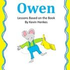 This pack contains 5 printables to go along with the book Owen by Kevin Henkes.  In this pack, you will find 2 writing templates, a problem/solutio...