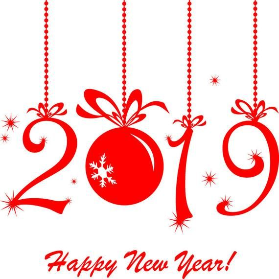 Happy New Years 2021 Decal