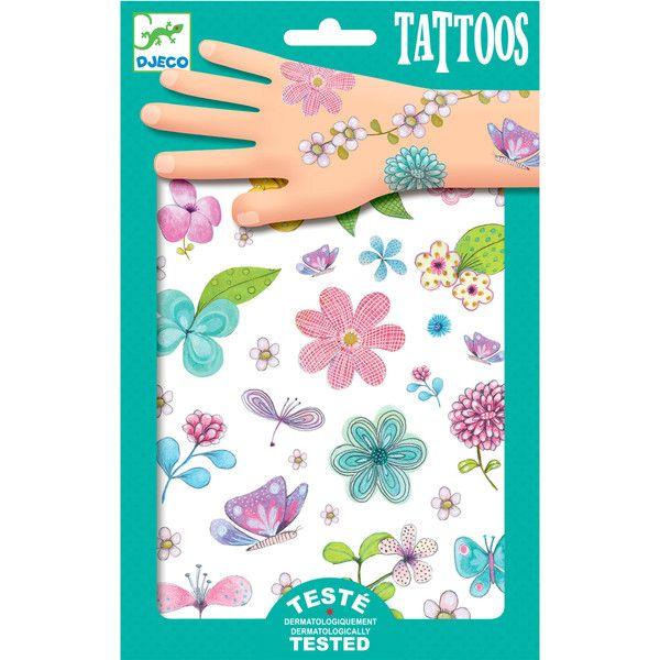 Djeco tatoveringer, blomster