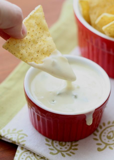 Barefeet In The Kitchen: The BEST Queso Blanco Dip ~ Spicy White Cheese Dip