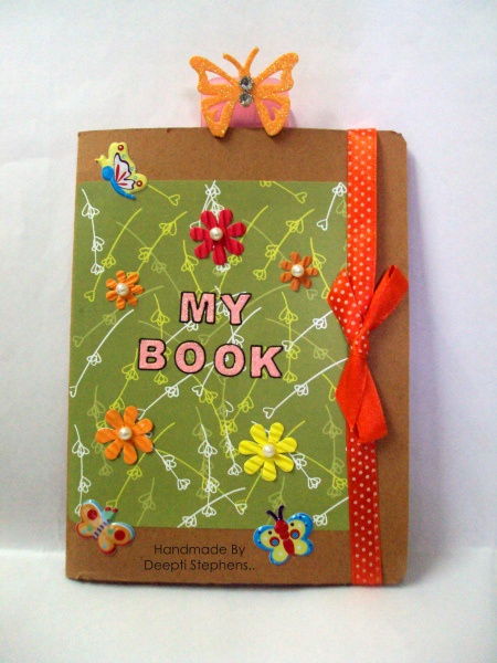 Memo file book 1 - Indian Craft Room