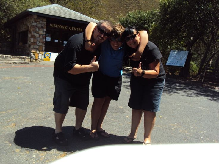 Ready for our hike in Hermanus Nature Reserve...