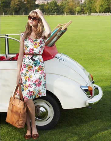 DARCIE Womens Dress And of course the perfect dress for it! #perfectpicnic #joules Come and see the Joules stand at this years Lincolnshire Show! http://www.joules.com/