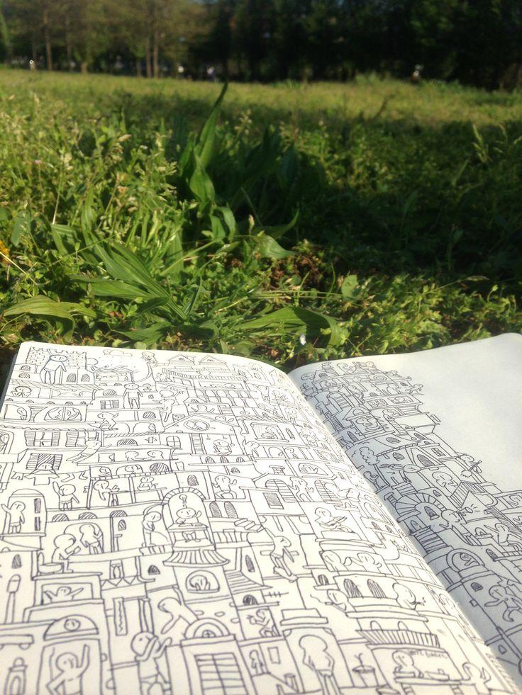 Sketchinthegarden