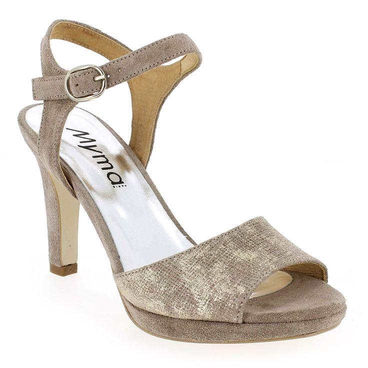 Chaussure Myma 1752MY Marron 5299601 pour Femme | JEF Chaussures