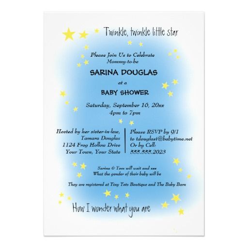 13 best greeting cards invitations save the date images on twinkle twinkle boy or girl baby shower personalized invite stopboris Image collections