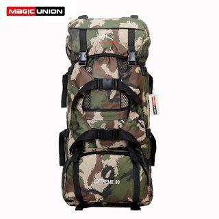 MAGIC UNION Hot Sale Men Women Unisex Military Backpack mens travel Bag waterproof Rucksacks 90L women backpacks (32356933541)  SEE MORE  #SuperDeals