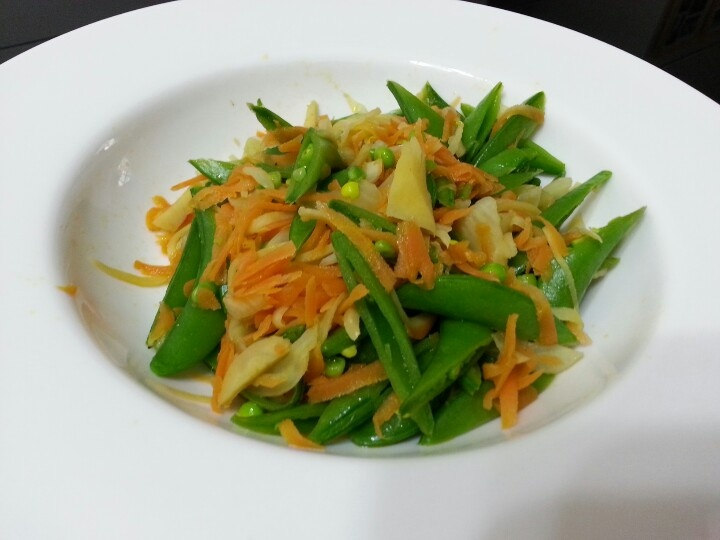 STIR FRY SNOWPEA, FENNEL AND CARROT IN GINGER WINE | LG ORIENTAL FOOD ...