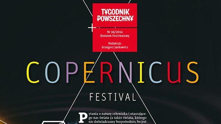 """Okładka dodatku festiwalowego """"Copernicus Festival"""""""