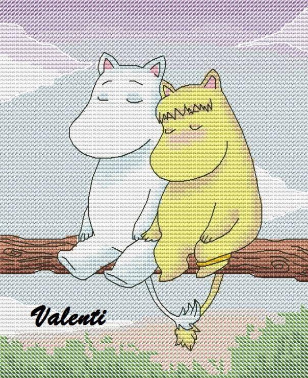 Gallery.ru / Муми-любовь - Мои схемы - valenti6