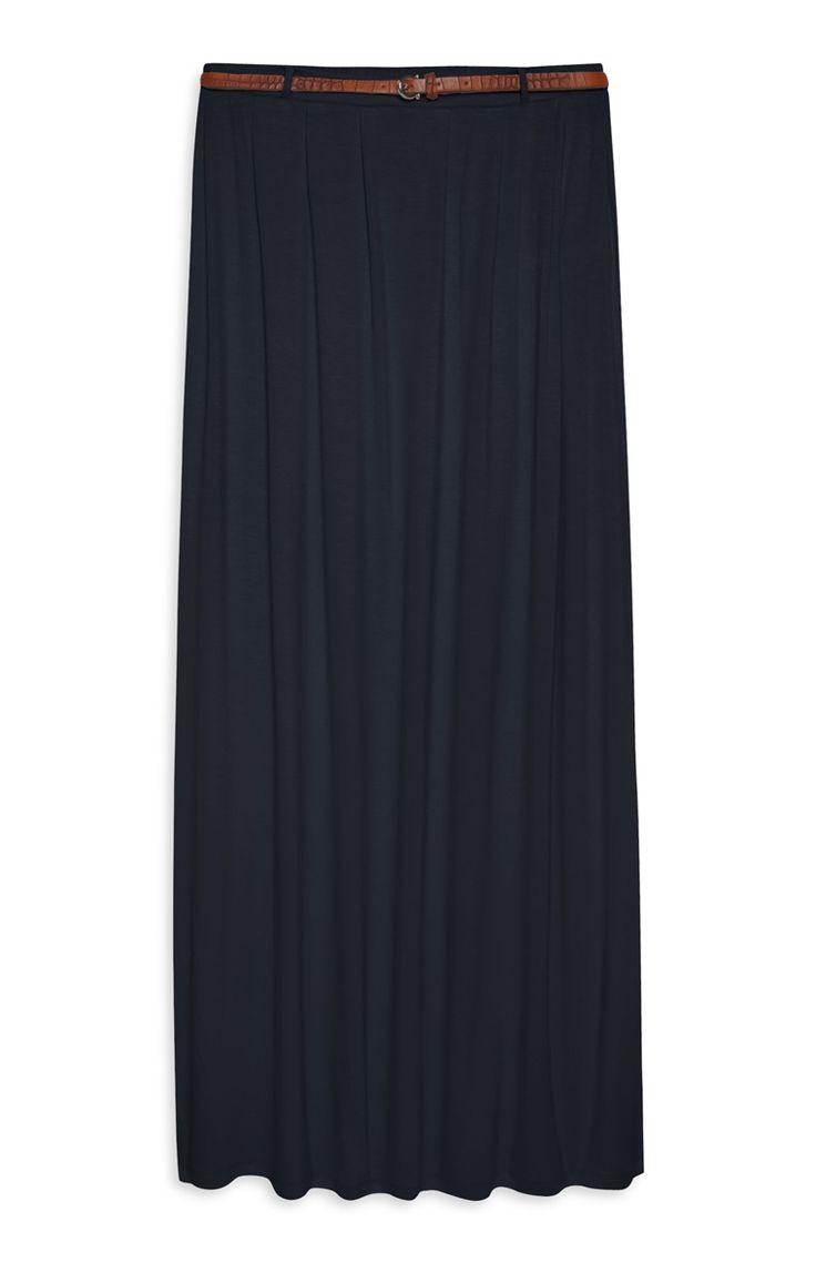 Primark - Belted Jersey Maxi Skirt