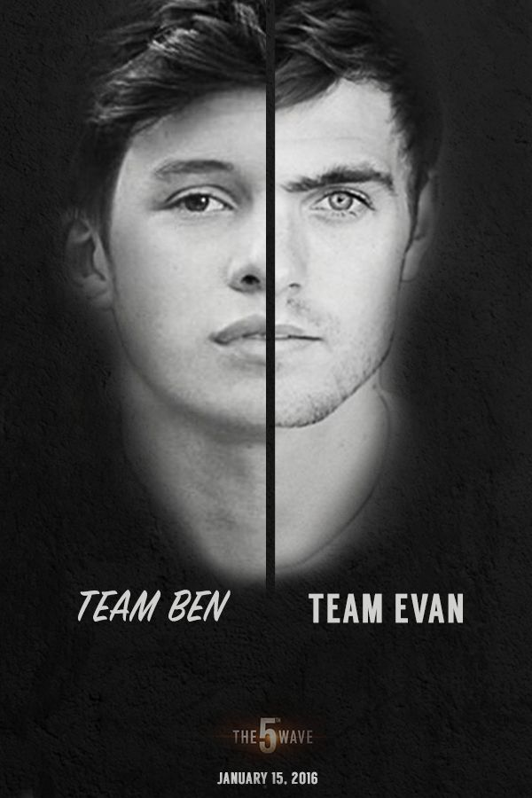 Team Ben? Team Evan? Who do you want by your side when The 5th Wave comes? | #5thWaveMovie in theaters January 22, 2016
