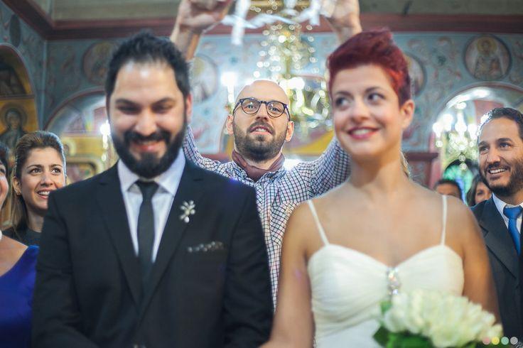 Wedding ceremony in Greece 2013! #bride #groom