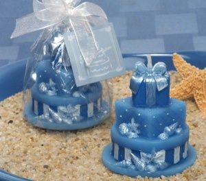 beach wedding cake candle favors 1000 ideas about blue weddings on 11172