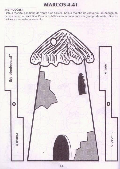 Molen, knutselen met kleuters, free printable