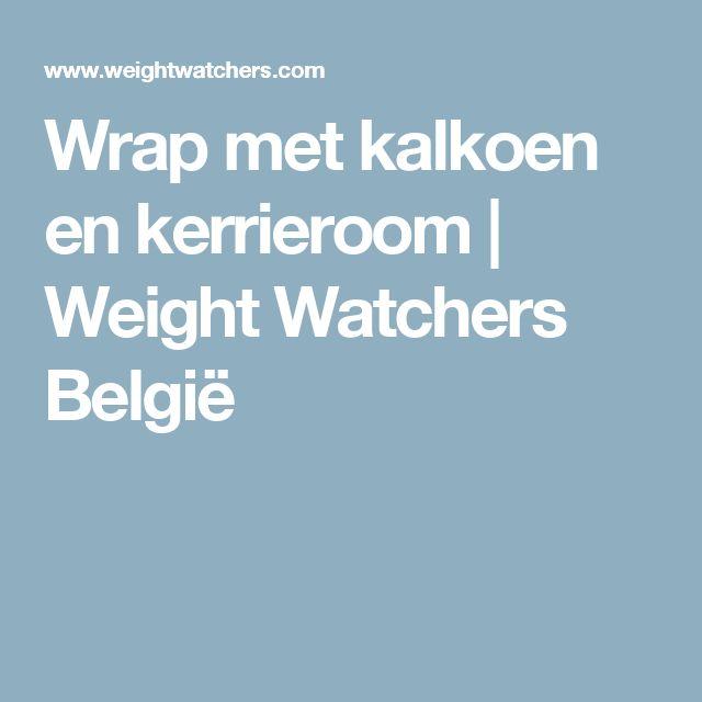 Wrap met kalkoen en kerrieroom | Weight Watchers België