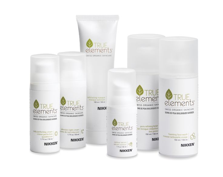 "True Elements® Swiss Organic Skin Care takes its inspiration from the flowers, vines and herbs that grow in the Valaisan Mountains of the Swiss Alps, extraordinary plant strains that have developed an unusual resistance to the effects of environmental stress. True Elements is certified organic by Ecocert, a distinction that very few products — even those labeled as ""organic"" — can claim. This provides a level of assurance important to consumers who understan"