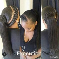 "@love__riss I saw this and thought: ""Wow so elegant and feminine!"" Great style. #fauxlocs #locs #braids #twists #cornrows #boxbraidscolors #purplehair #purplehairdontcare #redhair #greyhair #sunglasses #curls #dreads #blackisbeautiful #afrohair #ropes #turquoisehair #love #iversons #headwrap #beautiful #swag #bestoftheday #goddessfauxlocs #Protectivestyles #weave #crotchet #sewin"