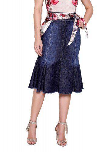 bd24676c33 modelo cabelo loiro saia jeans sino desfiada1