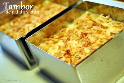 Cocina Varoma: Tambor de patata con atún