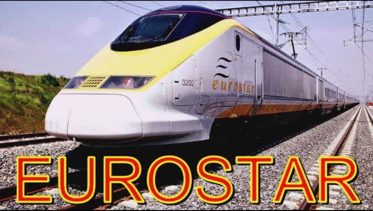 EUROSTAR скоростной поезд Европы !