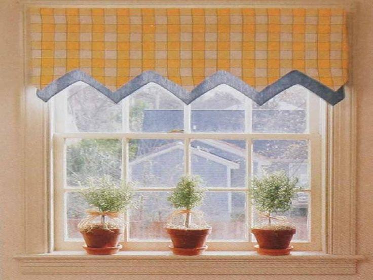 simple custom window valances ideas