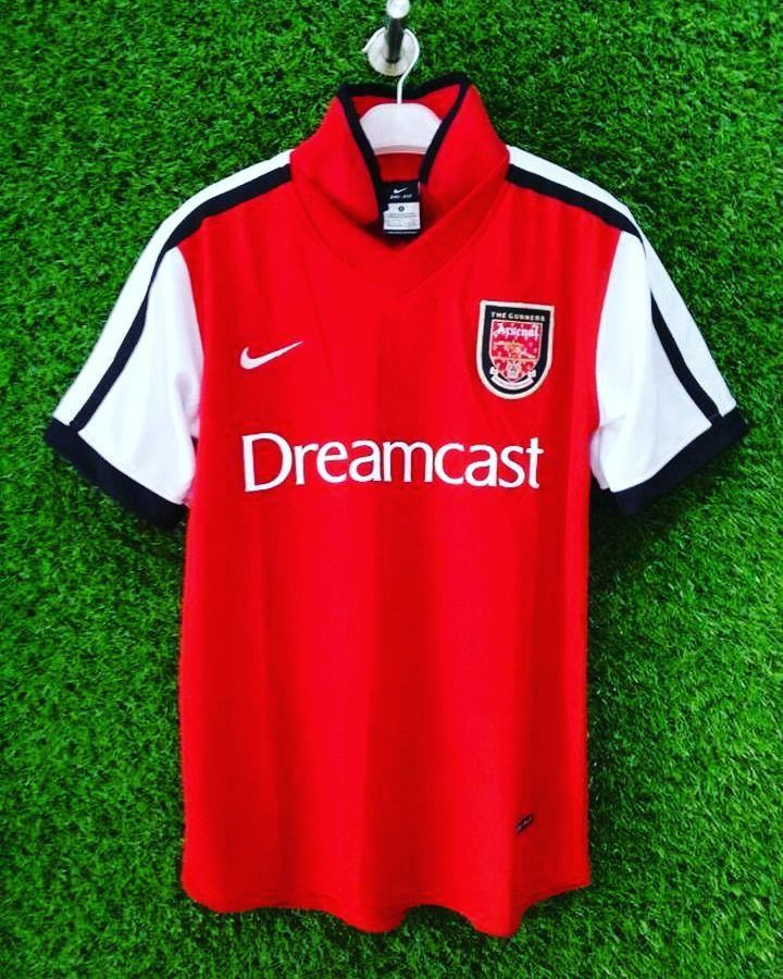 2000/01 Arsenal Home Shirt